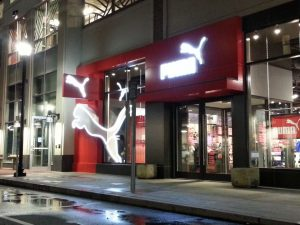 custom lighted storefront signage